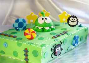 Детский торт из мастики для мальчика своими руками