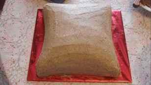 Торт подушка мастер класс фото