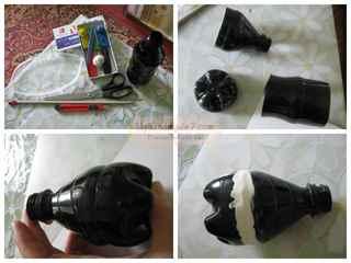 Как сделать вулкан из пластилина в домашних условиях поэтапно