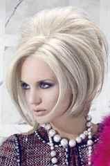 Пучки на средние волосы своими руками фото 487