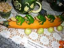 Поделки из овощей в школу