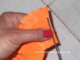 Лилия из бумаги своими руками пошаговая инструкция