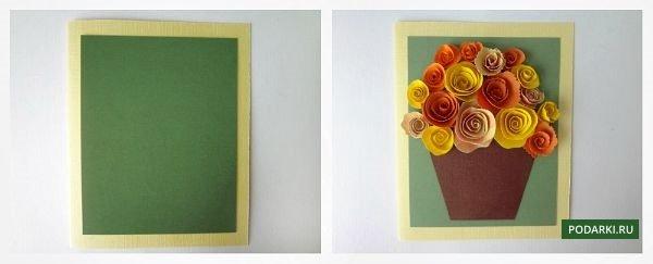 Подарок маме на день рождения из картона и бумаги своими руками 40