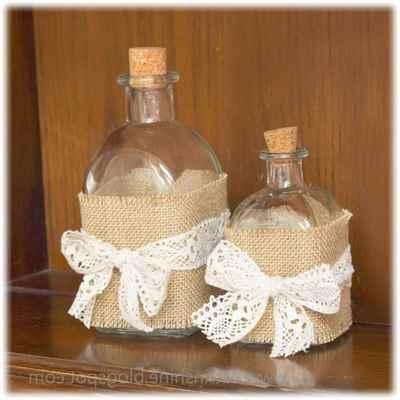Как красиво оформить бутылку своими руками