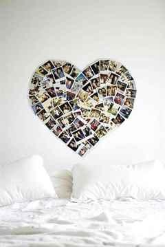 Коллаж для фотографий своими руками на стену
