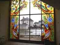 Как сделать витраж на стеклах в домашних условиях