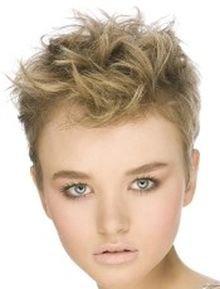 Стрижка на тонкие волосы без укладки