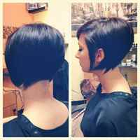 Стрижка боб каре на короткие волосы