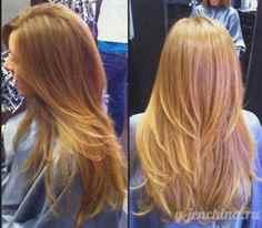 Как подстричь каскад на длинные волосы