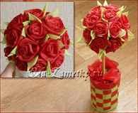 Как сделать розу из салфеток на праздничный стол