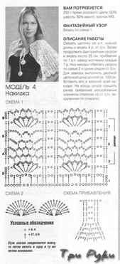 Вязание крючком накидки и пончо для женщин 64