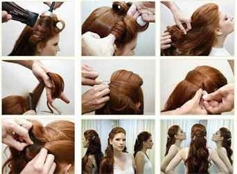 Укладка на длинные волосы своими руками пошаговая инструкция фото