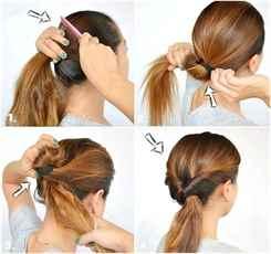 Прически простые на каждый день своими руками на средние волосы