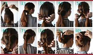 Как красиво заплести косы самой себе