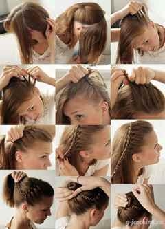 Летние прически на средние волосы своими руками на каждый день с фото