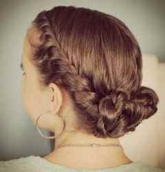 Фото причёсок на средние волосы на 1 сентября
