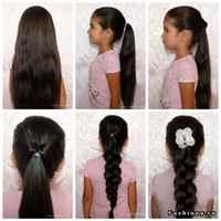 Легкие причёски в школу на длинные волосы за 5 минут