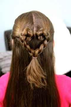 Причёски косы своими руками на волосы
