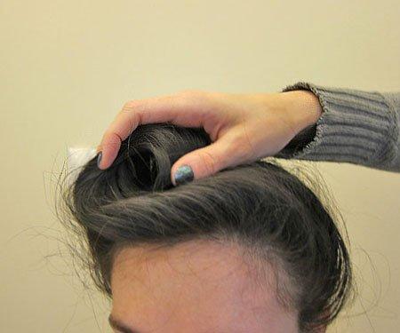 Как сделать ракушку из волос