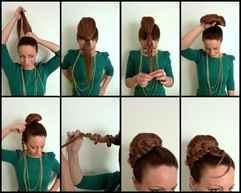 Прически 19 века для коротких волос
