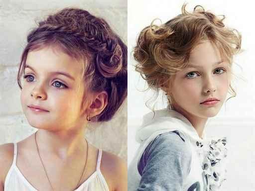 Варианты причёсок для девочек с короткими волосами