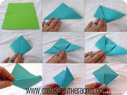 Как сделать закладку из бумагу