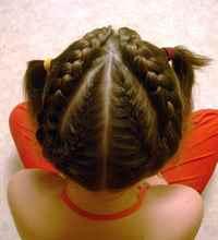 Прически с косами для девочек