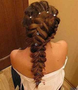 красивые детские прически из косичек на длинные волосы