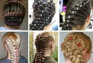 Плетение кос мастер класс пошаговое фото для начинающих