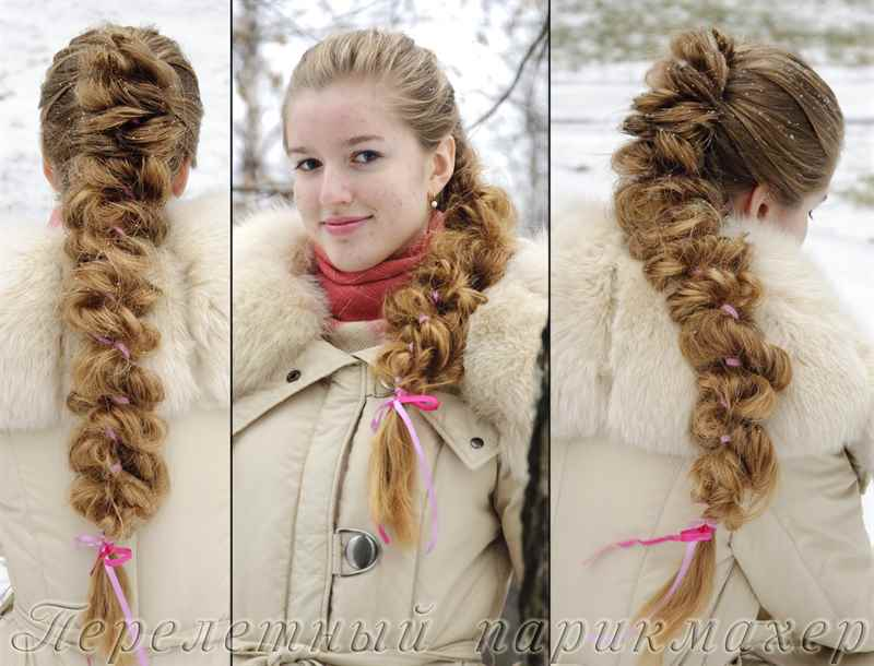 Как сделать объемную косу