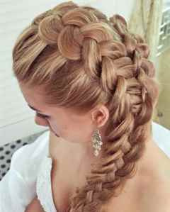 корона коса фото
