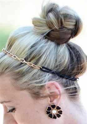 Как сделать гульку из коротких волос