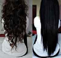 Как сделать волосы чёрными в домашних условиях