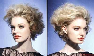 Как сделать локоны в домашних условиях без плойки на короткие волосы фото