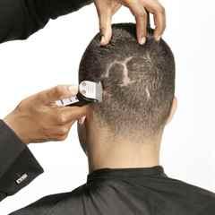 Как подстричь волосы мужчине ножницами видео