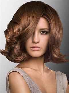 Простые укладки на средние волосы