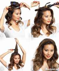 Как сделать дома прическу на волосы средней длины