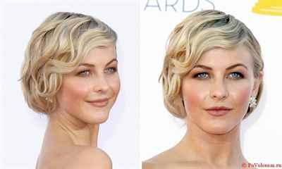Причёски на средние и короткие волосы