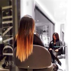 Видео как сделать омбре на черные волосы в домашних условиях