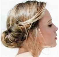 Причёски из жгутов фото