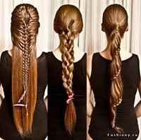 Как делать красивые причёски косички