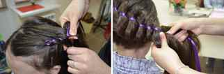 Прически для девочек с лентами с пошаговым фото