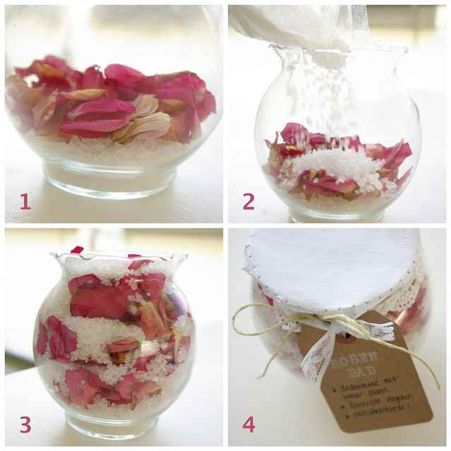 Сухие лепестки роз поделки своими руками 3