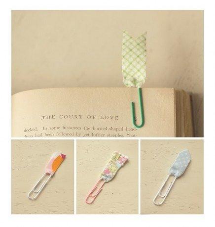 Красивые закладки для книг из бумаги своим