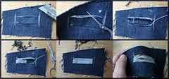 Как обрезать джинсы Как подшить джинсы с сохранением 88