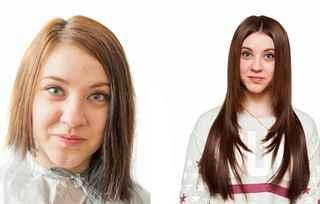 Наращивание волос после кератина 39