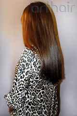 Наращивание натуральных волос фото до и после
