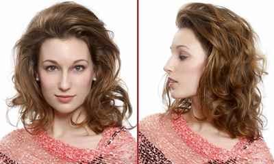 Как можно уложить волосы средней длины в домашних условиях