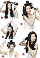 Как сделать объемные укладки на средние волосы