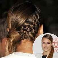 Косы на бок на длинные волосы